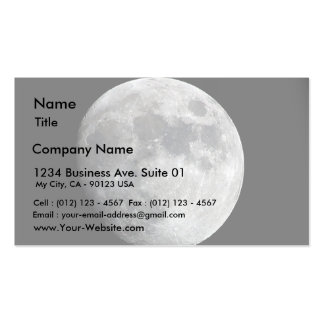 Moon Business Cards