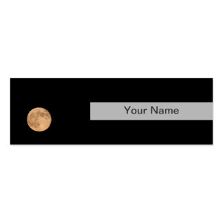 Moon Pack Of Skinny Business Cards