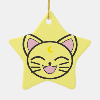 moon cat christmas ornament