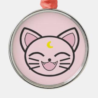 moon cat christmas ornament