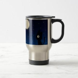 Moon Cat Coffee Mug