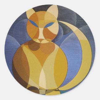 Moon Cat Sticker