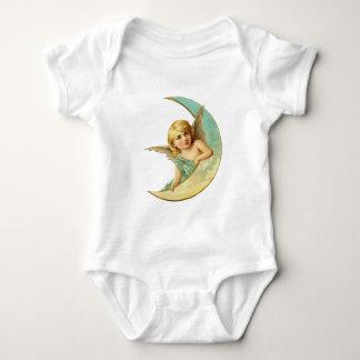 Moon Cherub Baby Bodysuit