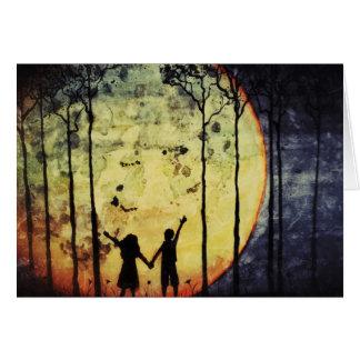 Moon Children Card