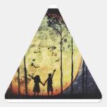 Moon Children Sticker