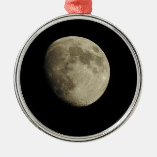 Moon Christmas Ornament