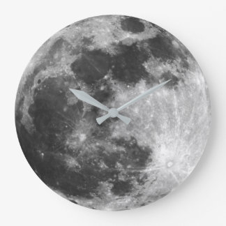 Moon clock galaxy space stars planet hipster photo