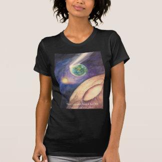 Moon, Comet, Earth, Sun Shirts