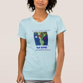 Moon Dance blue T Tee Shirt