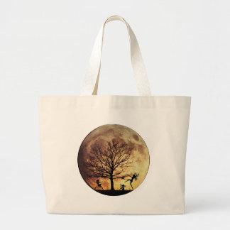 Moon Dance Jumbo Tote Bag