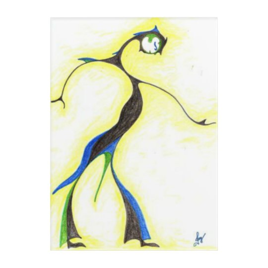 Moon Dancer art board