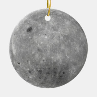Moon double-sided ornament