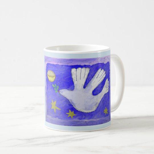 MOON DOVE COFFEE CUP