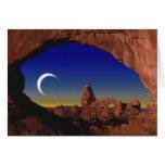 Moon Dream Greeting Card