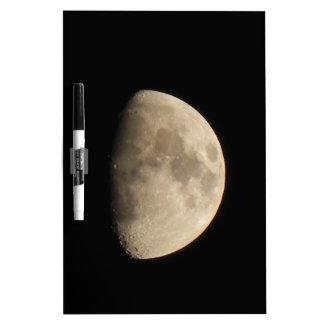 Moon Dry Erase Board