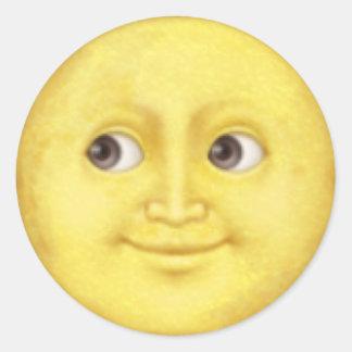 Moon emoji sticker