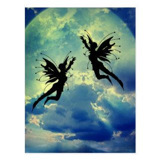 moon fairies postcards