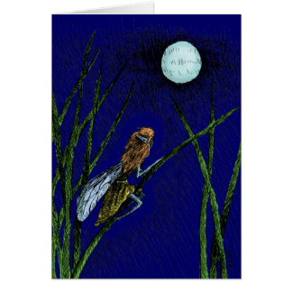 Moon Fairy Greeting Cards