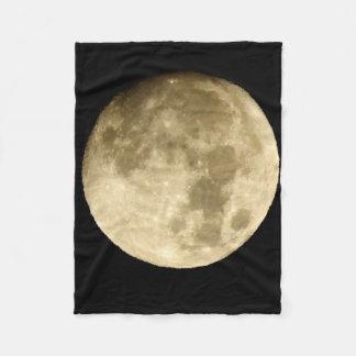 moon fleece blanket