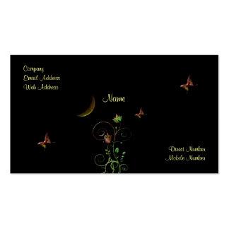 Moon Flower Business Card Templates