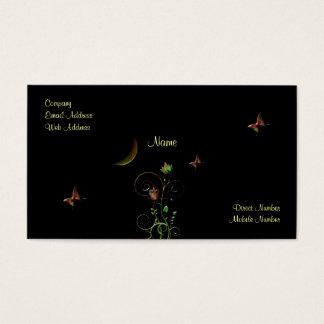 Moon Flower Business Card