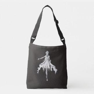 Moon Flower Crossbody Bag