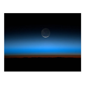 Moon From Space Postcard