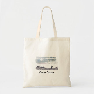 Moon Gazing Hare Tote Bag