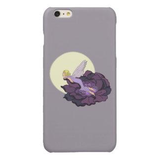 Moon Gazing Purple Flower Fairy Evening Sky iPhone 6 Plus Case
