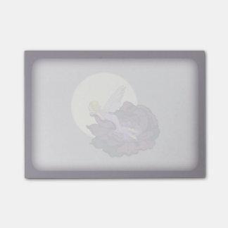 Moon Gazing Purple Flower Fairy Evening Sky Post-it® Notes