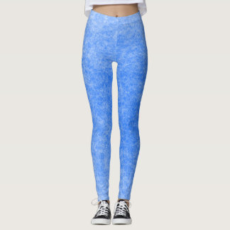 Moon Ghost Rock Marble Plush Leggings