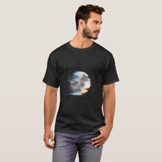 Moon Glitch Wind T-Shirt