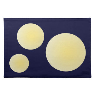 Moon glow place mats