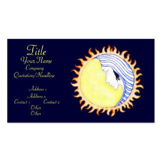 Moon Goddess Business Card Template