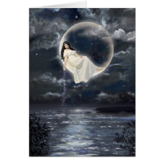 Moon Goddess Card