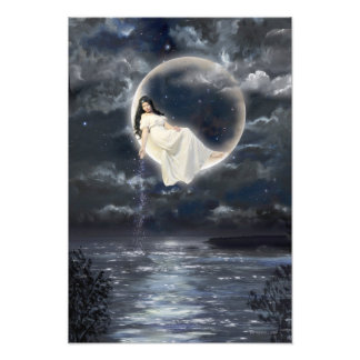 Moon Goddess Photo Art