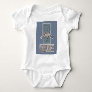 moon hare baby bodysuit