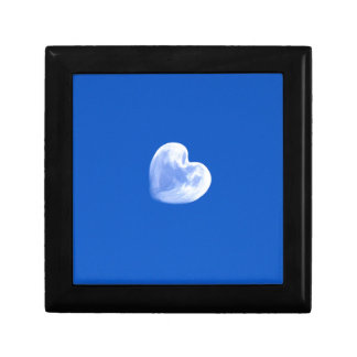 moon heart in the blue sky gift box