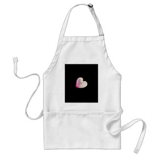 moon heart in the sky standard apron