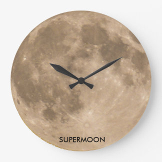 Moon Image for Round Wall Clock