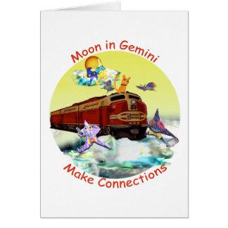 Moon in Gemini Card
