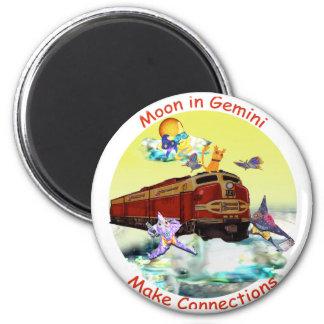 Moon in Gemini Magnet