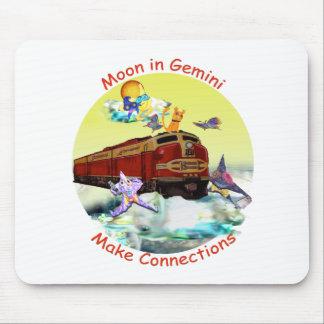 Moon in Gemini Mouse Mat
