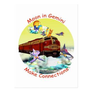 Moon in Gemini Postcard