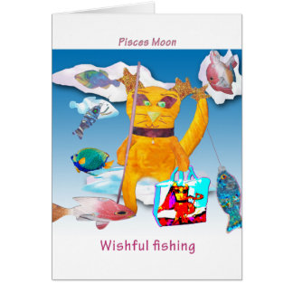 Moon in Pisces Card