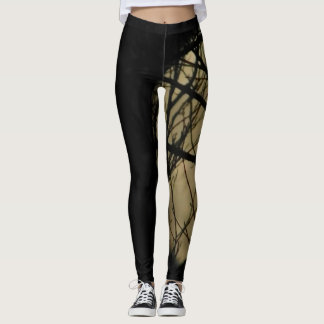 Moon in tree leggins leggings