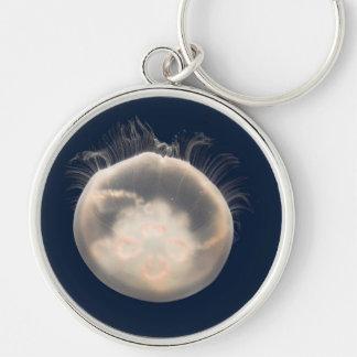 Moon Jelly Fish Beach Animal Scary Party Destiny Key Ring
