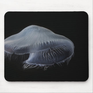 Moon Jellyfish Floating Mouse Mat