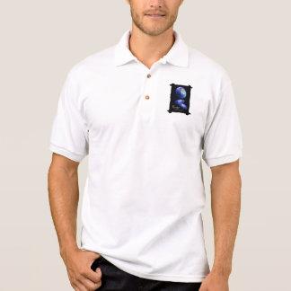Moon Jellyfish Polo Style Shirt