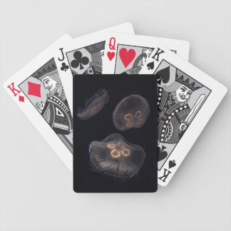 Moon Jellyfish Swimming Bicycle Playing Cards